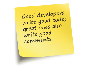 Oracle-development-comments-code